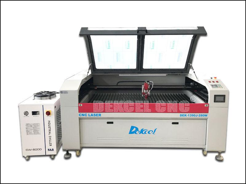 China Manufacture 280w CO2 3mm Stainless Steel Laser Cutting Machine