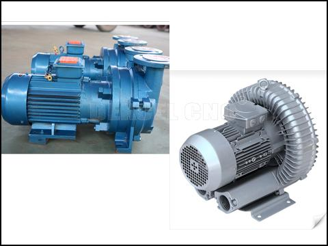 The main difference between air-cooled and water-cooled vacuum pump of cnc router?