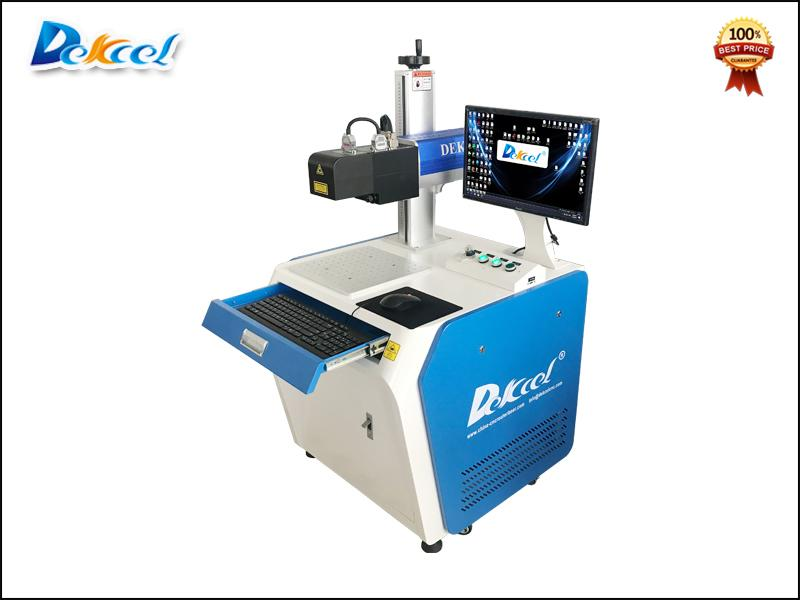 100W Fiber Laser Marking Machine for 3D Metal Mould Relief