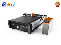 Multilayer fiberglass and carbon fiber fabric blade cutting machine