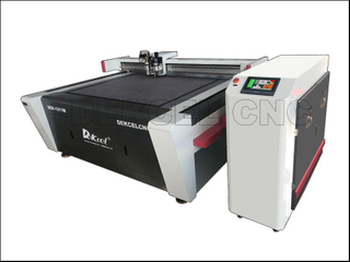 Adhesive Foil Sample Oscillating Knife Kiss Cutting Plotter Machine