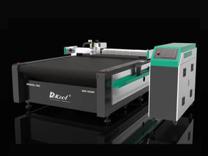 Printed Foamed PVC Board CNC Oscillating Knife Cutting Machine