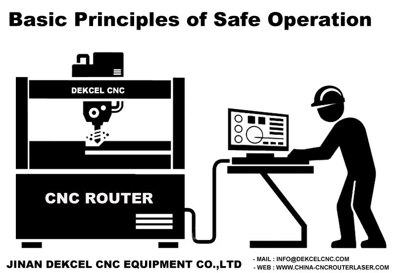 safe operation principle of cnc engraving router machine