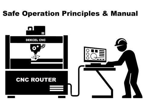Dekcel cnc engraver router machine operation principles and manual