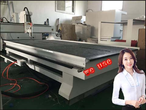 The important effect of wood cutting cnc router machine body structure