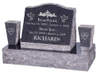 China customized cnc stone cemetery, tombstone, memorial monuments engraver with 5.5 kw spindle