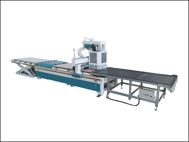 ATC Wood Plate Customized Furniture Production Line Cutting Drilling Router