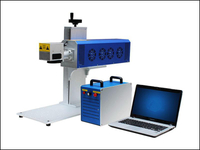 Portable co2 laser marking machine for nonmetal material